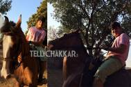 Bhavya 'Tappu' Gandhi learns horse riding