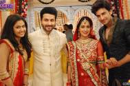 Celebration time on the set of Sasural Simar Ka