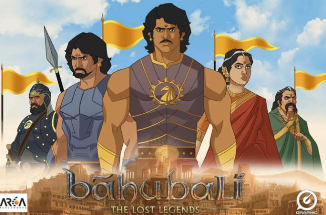 Animated series 'Baahubali: The Lost Legends' to launch on Colors