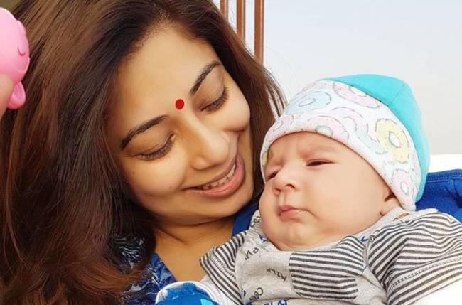 Malini's first holiday with her child