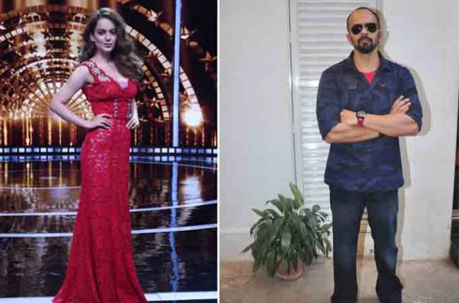 Rohit Shetty doesn't want to mess with Kangana
